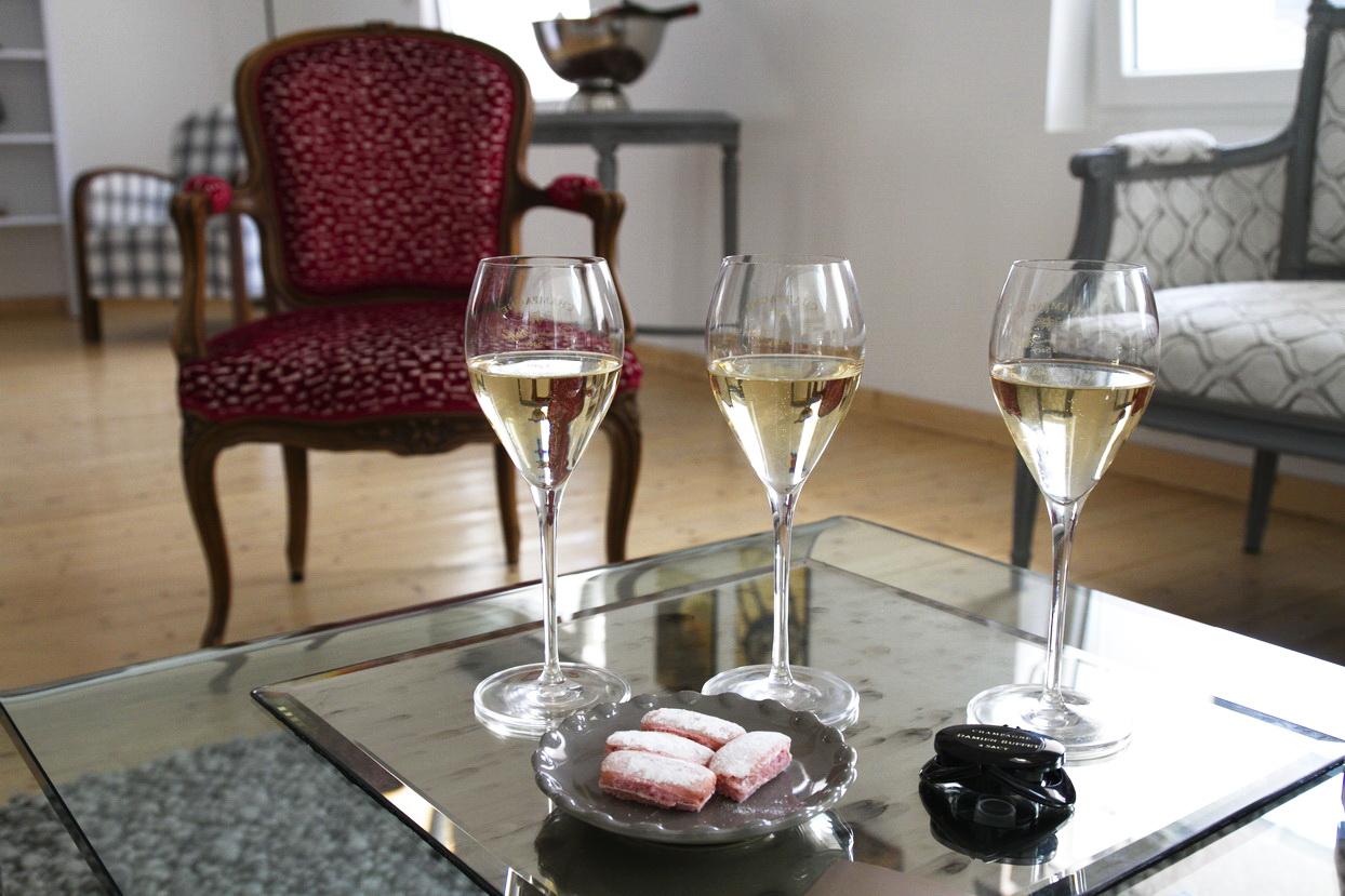 champagne damien buffet espace receptif